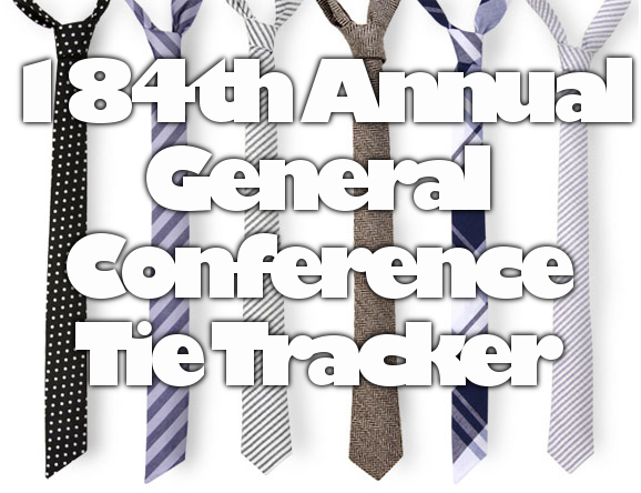 184th Annual General Conference Tie Tracker