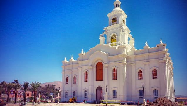 Tijuana Mormon Temple Open House and Dedication Dates