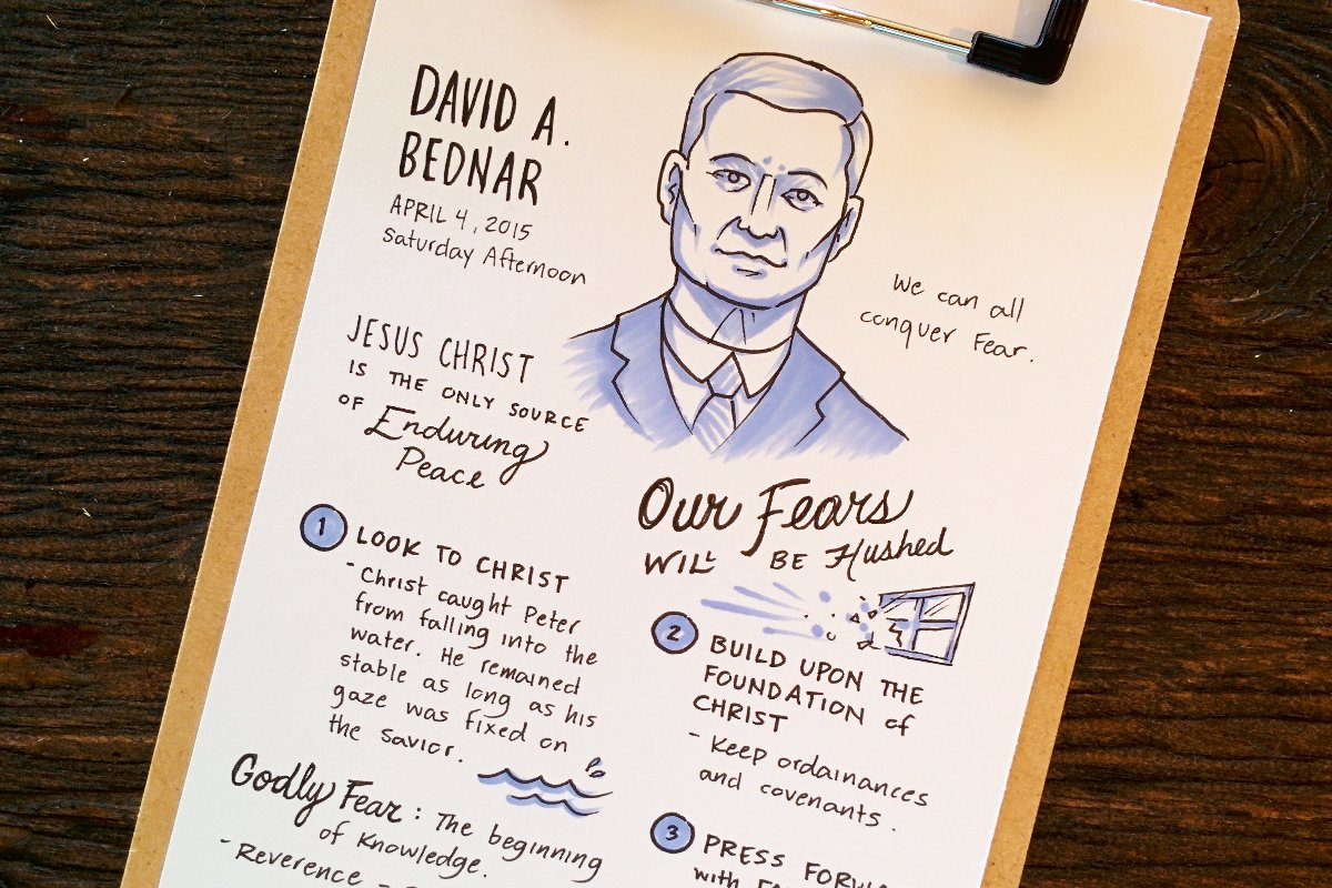 General Conference Sketch Notes – 185th Annual General Conference