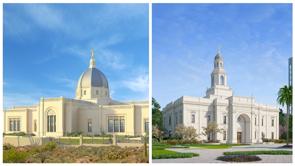 Two Mormon Temple Groundbreakings Announced: Tucson Arizona and Concepción Chile