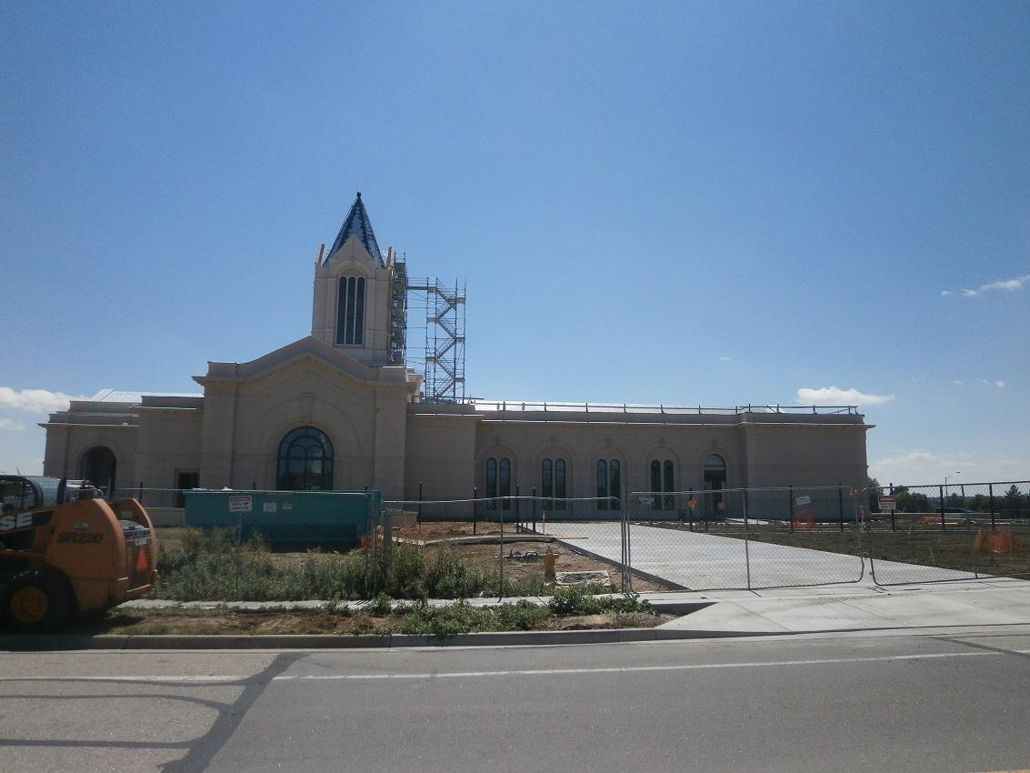 Vandals Desecrate Colorado's Newest LDS Temple