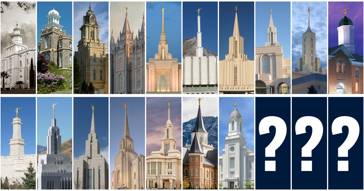 Utah Needs Three More Temples