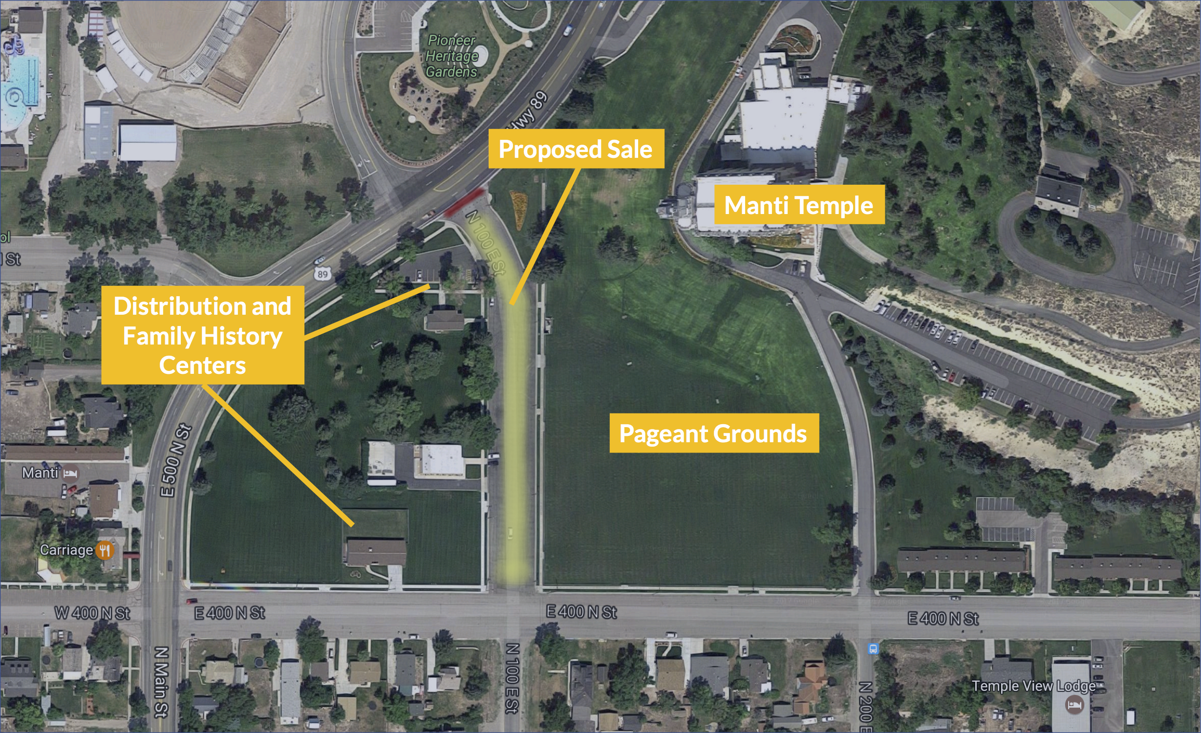 Remember the Controversy When the Mormon Church Purchased a Salt Lake City Street? It's Happening Again – in Manti