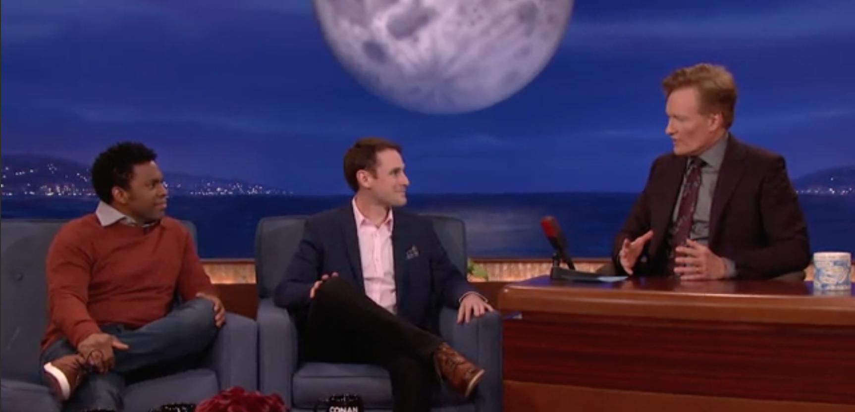 Studio C Visits Conan, Talks Clean Comedy