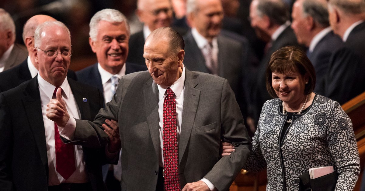 President Thomas S. Monson Will Not Attend General Conference