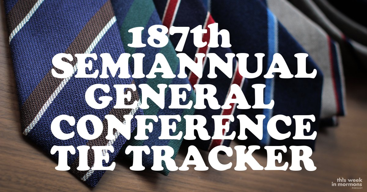 General Conference Tie Tracker, October 2017