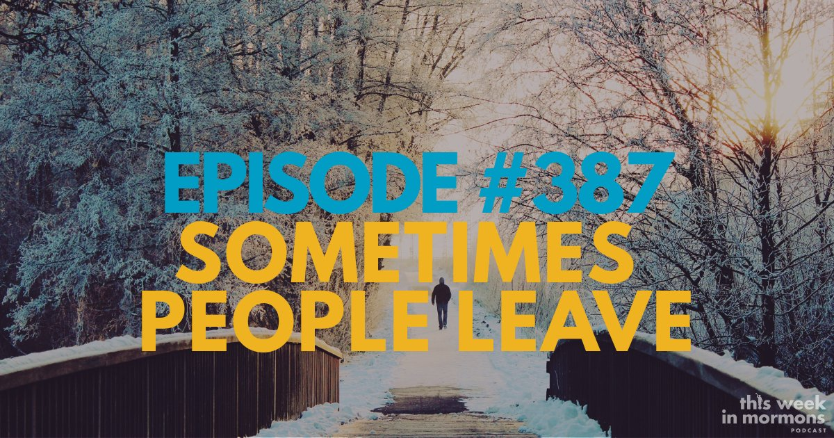 Episode #387 – Sometimes People Leave