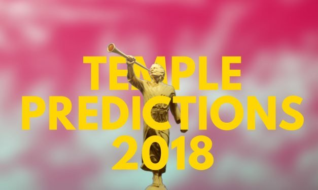 Temple Predictions – October 2018