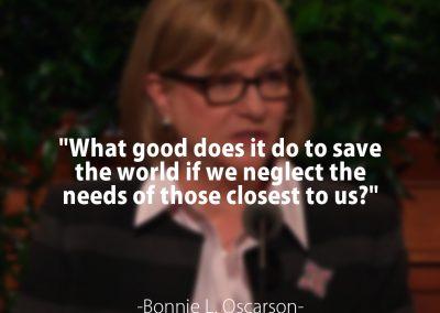 President Bonnie L. Oscarson
