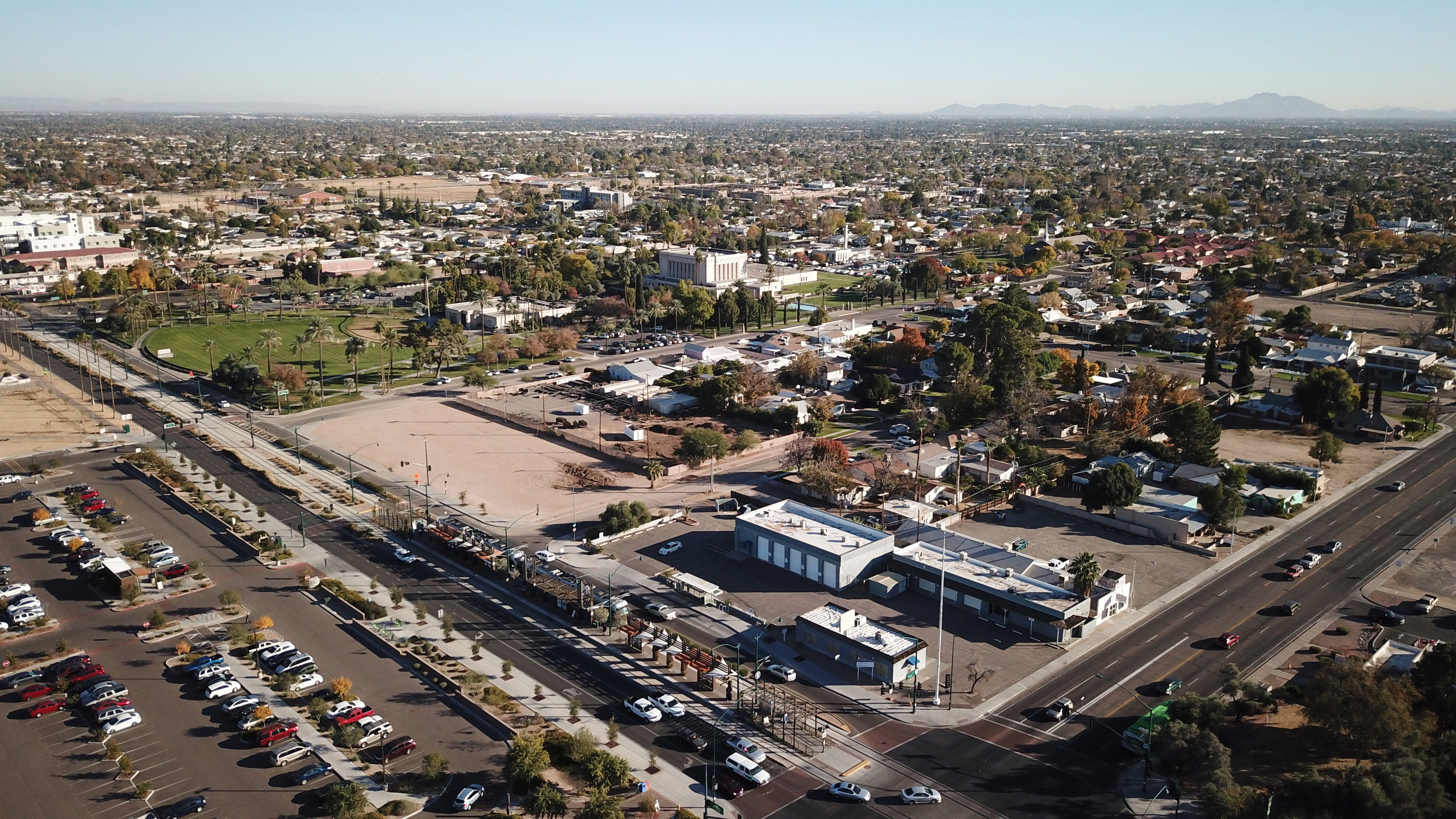Mesa Temple Redevelopment Current