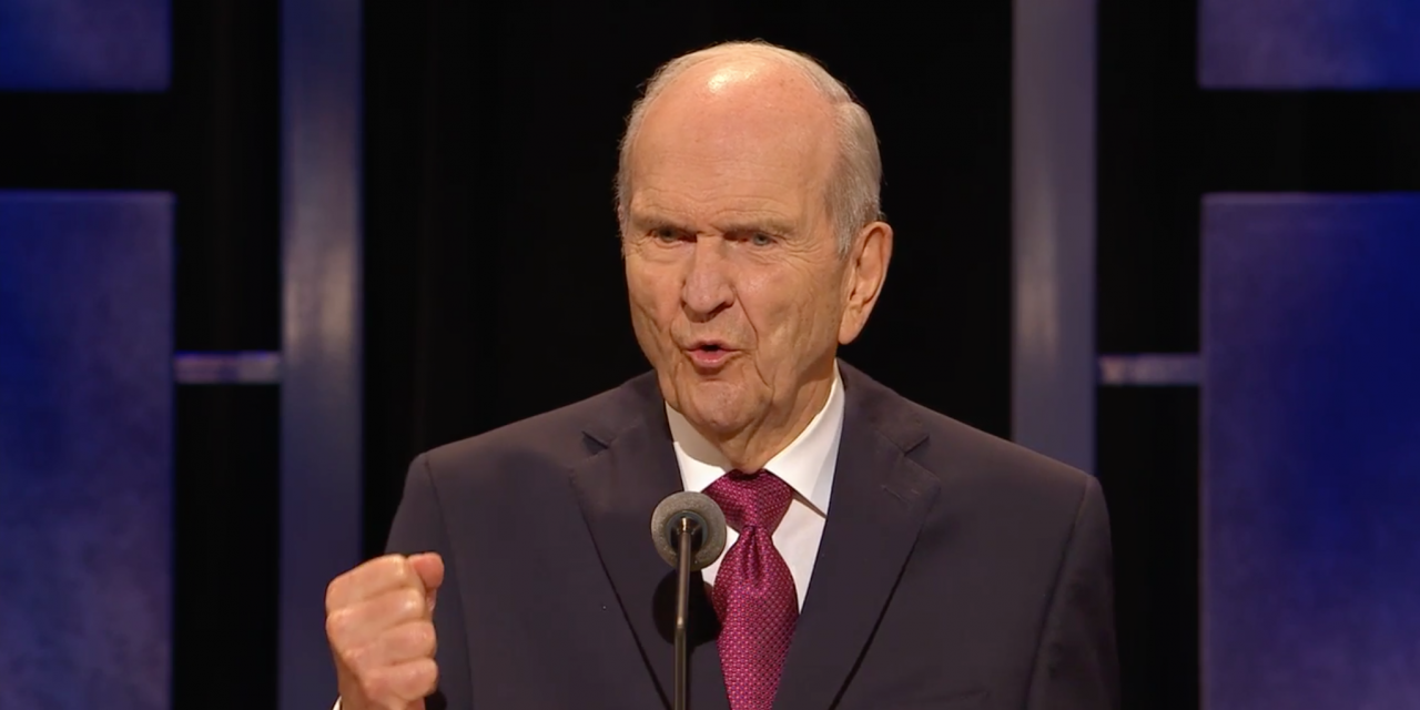 LDS Church President Russell M. Nelson Encourages Social Media Fast, Other Challenges