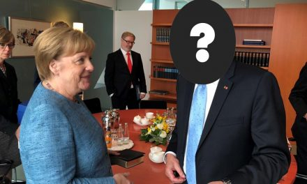 An Apostle Visits Germany's Chancellor. You'll Never Guess Which One It Is!