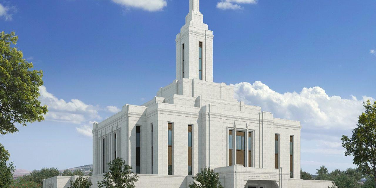 Pocatello Idaho Temple Design Released