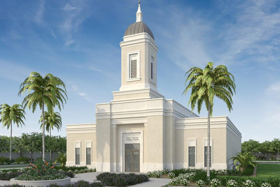 Groundbreaking Date Announced for Guam Temple