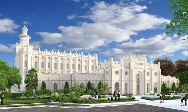 St. George Utah Temple Renovations Plans Call for a Very Imposing Annex