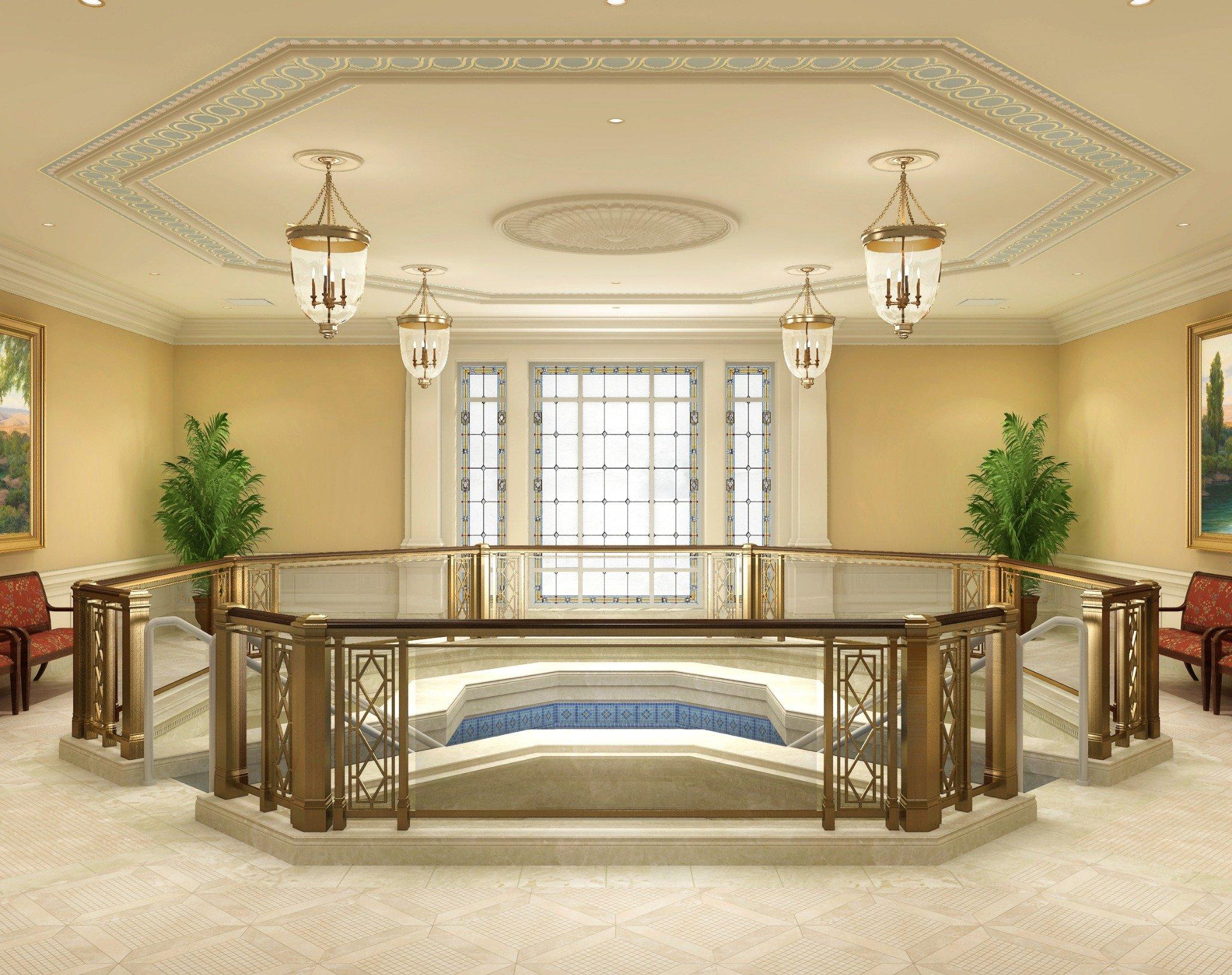 Richmond-Temple-Baptistry