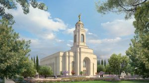 Feather River California Temple rendering