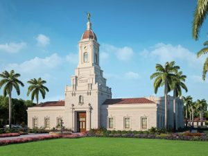 Puebla Mexico Temple rendering