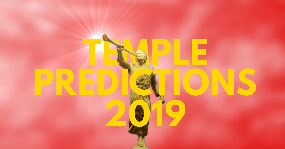Temple Predictions – October 2019