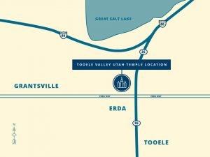 Tooele Utah Valley Temple location