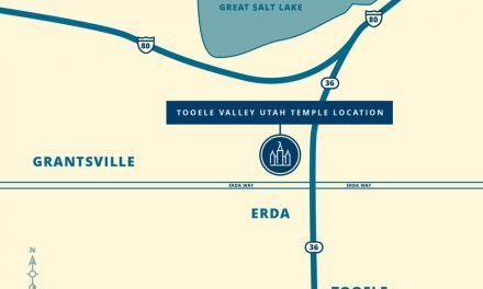 Tooele Valley Utah Temple Location Revealed!