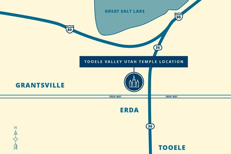 Tooele Valley Utah Temple Location Revealed!