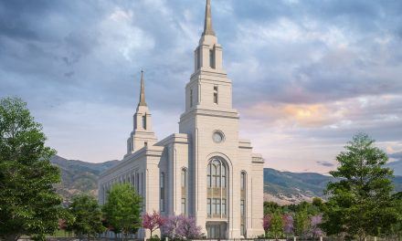 Rendering Released of Layton Utah Temple