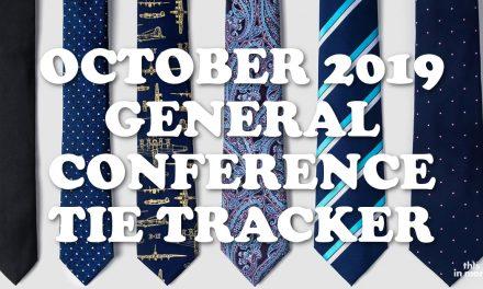 October 2019 General Conference Tie Tracker!