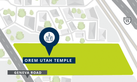 Locations Announced for Orem Utah and Taylorsville Utah Temples