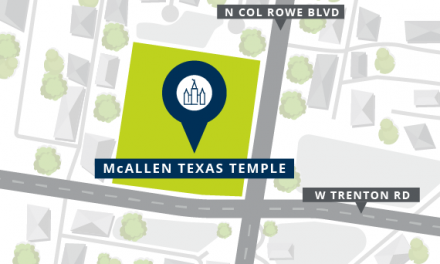 McAllen Texas Temple Location Announced