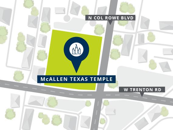 McAllen Texas Temple Location Announced