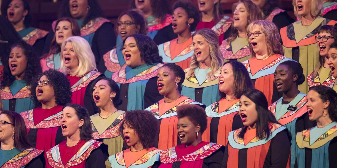 A Choir Application Might Have Given Away the Location of the Next General Conference