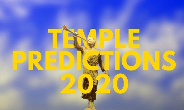 Temple Predictions – April 2020