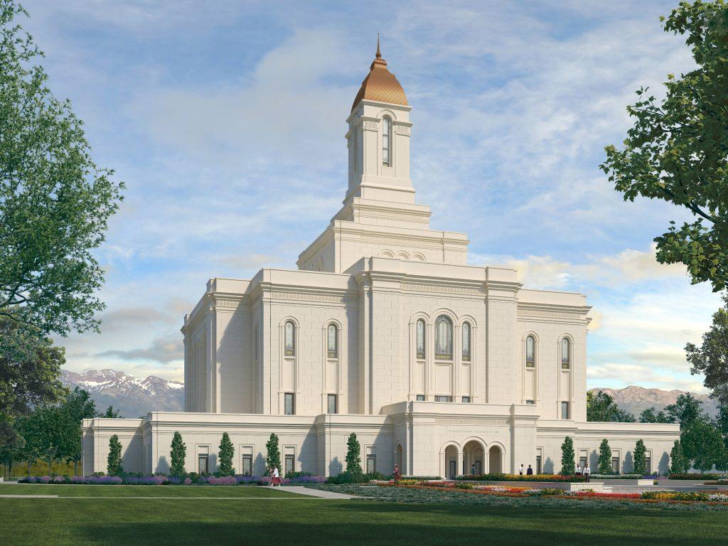 Tooele Valley Utah Temple Rendering