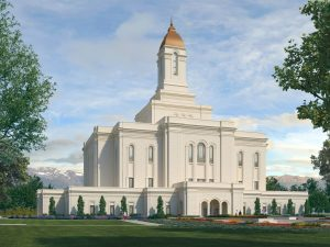 Tooele Valley Utah Temple Rendering