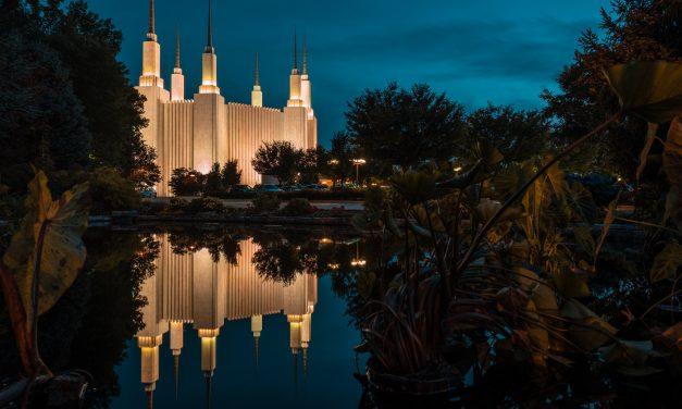 Washington D.C. Temple Open House, Dedication Postponed Indefinitely