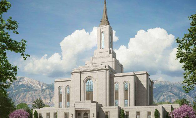 Groundbreaking Announced, Rendering Released for Orem Utah Temple