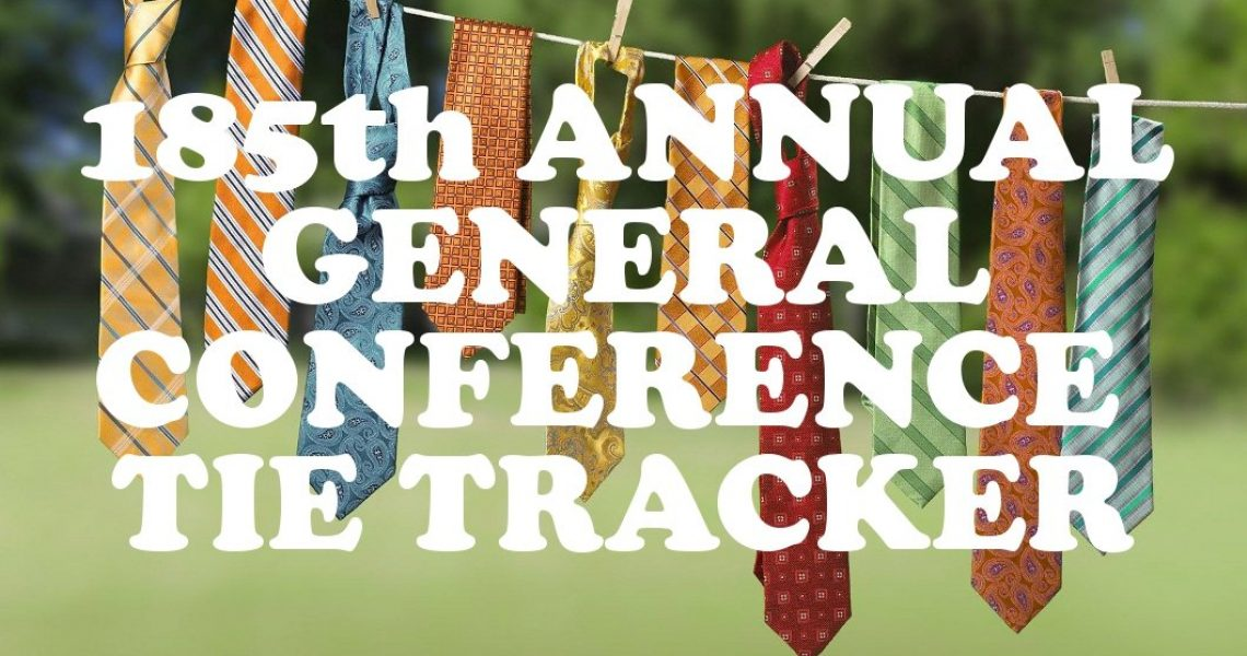185th Annual General Conference Tie Tracker_Banner