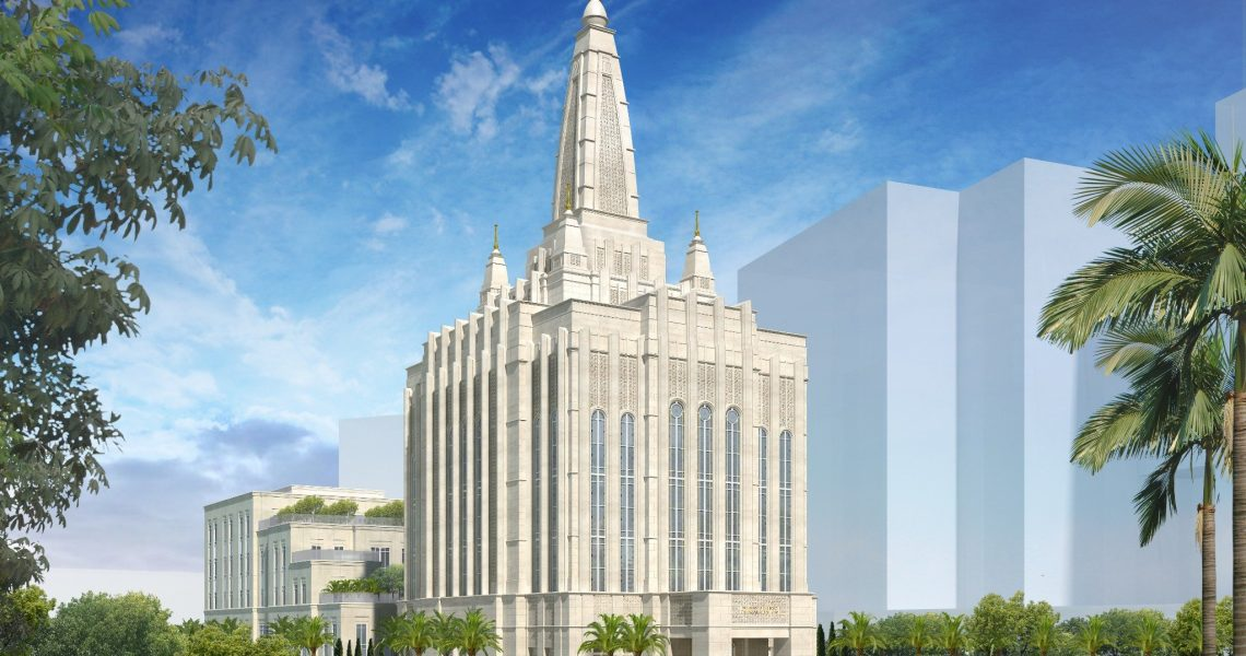 Rendering of the Bengaluru India Temple | Intellectual Reserve