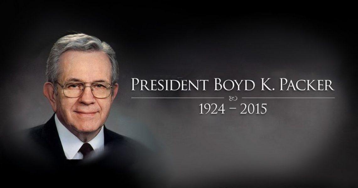 Boyd K Packer fb