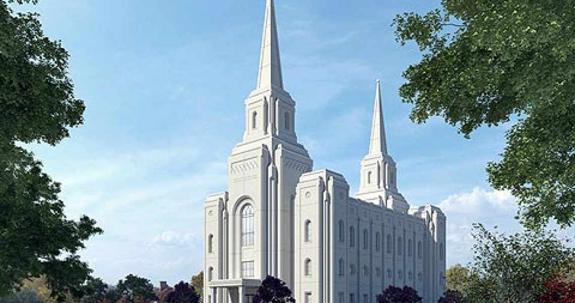 Brigham City Utah Mormon Temple