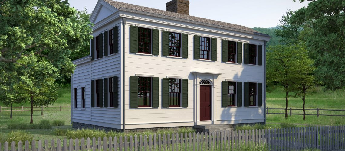 Reconstructed Home of Isaac and Elizabeth Hale