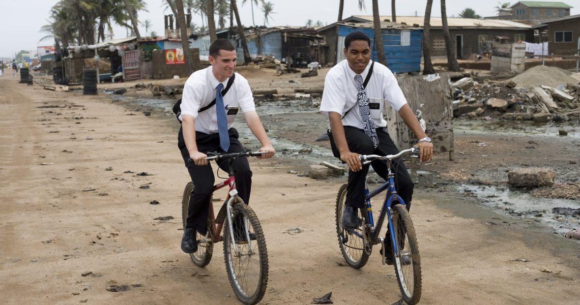 Missionaries-on-bikes-in-Ghana