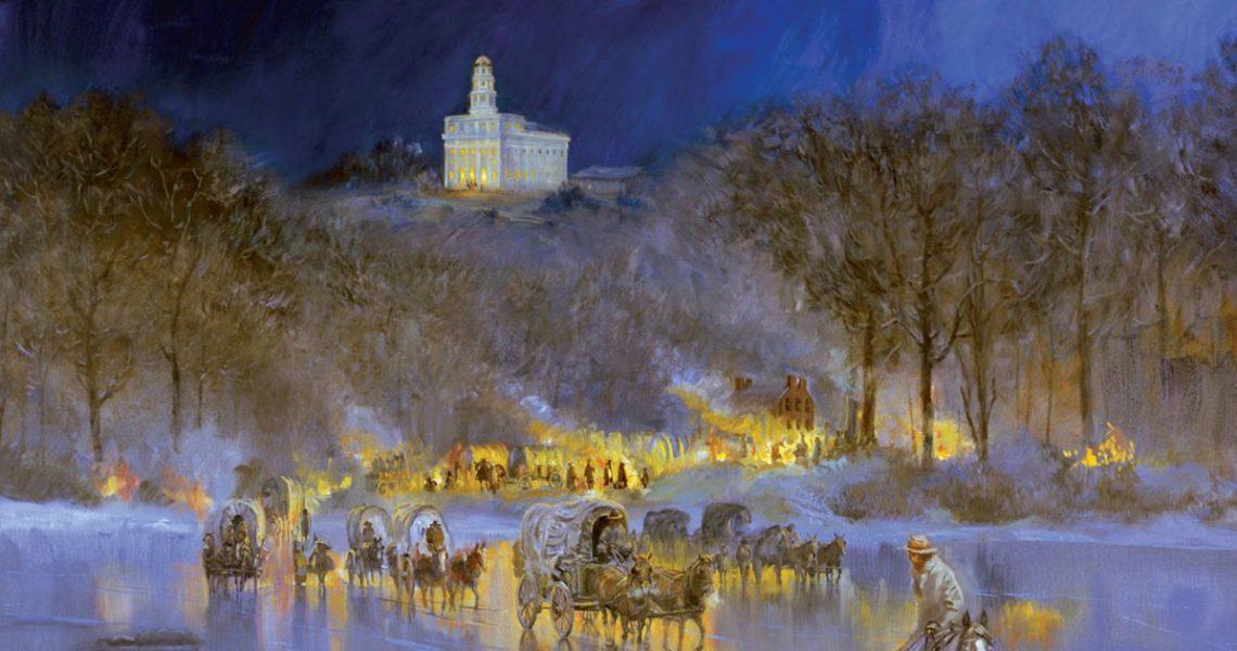Mormons Leave Nauvoo