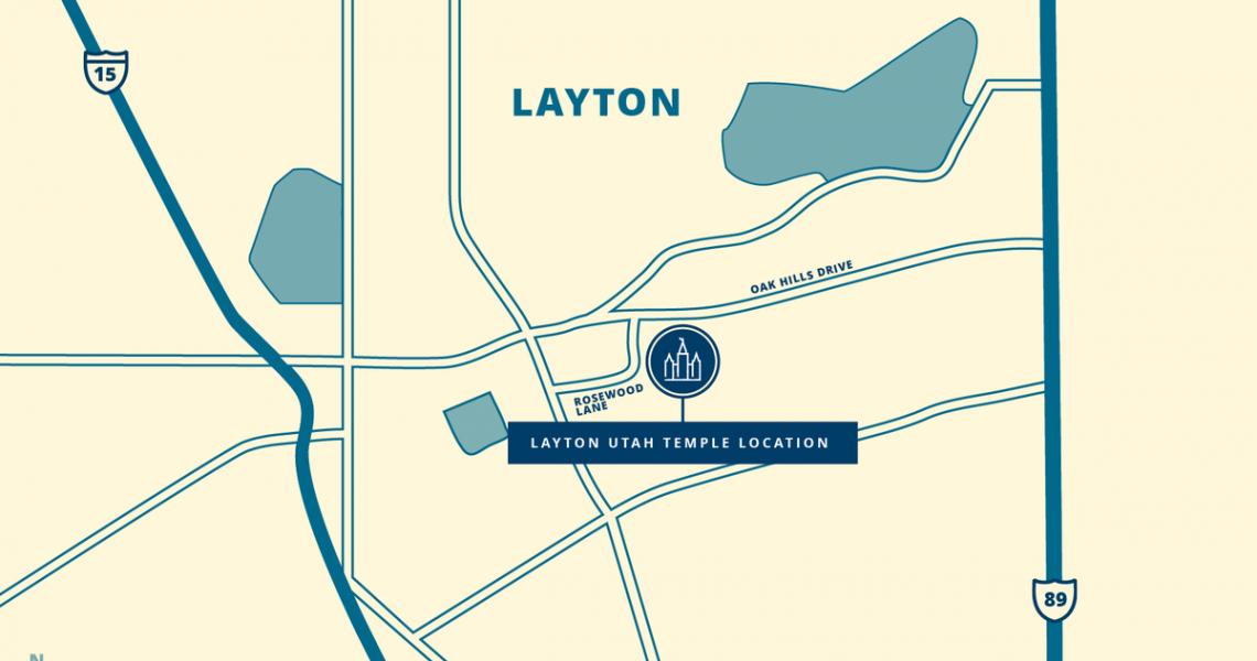 Layton Utah Temple Site Announced