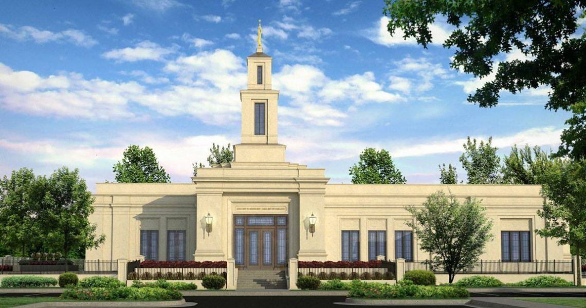 Raleigh North Carolina Temple rendering