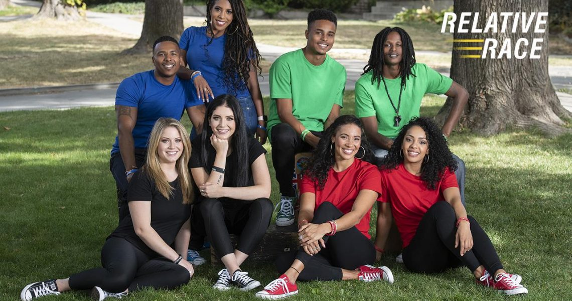 The cast for Relative Race Season 5