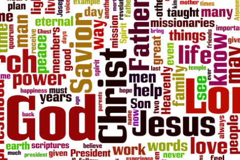 183rd Annual General Conference Tag Clouds
