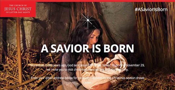 Mormon.org a savior is born screen shot