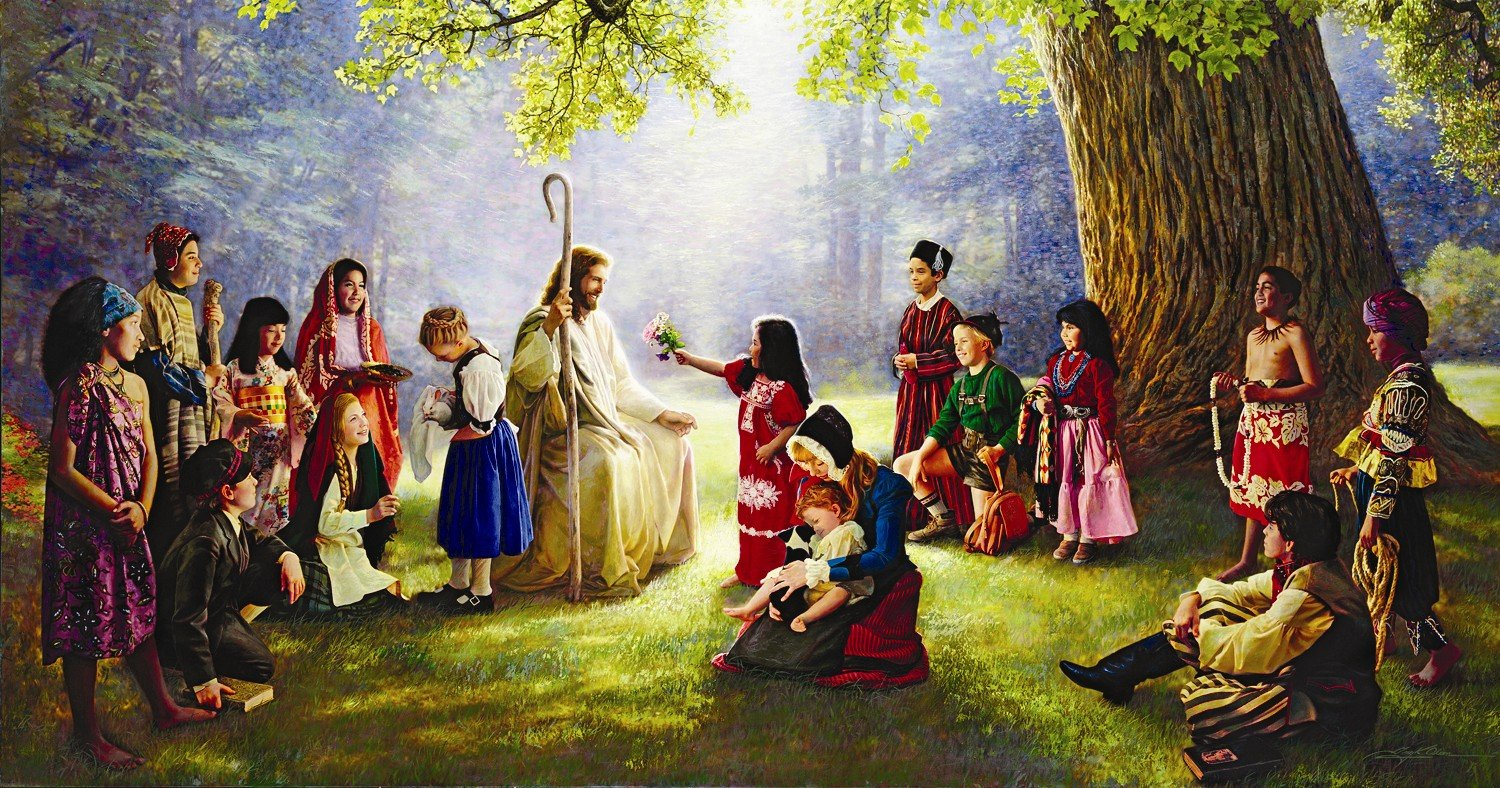 """Book of Mormon Lesson 16: """"Ye Shall Be Called the Children of Christ"""""""